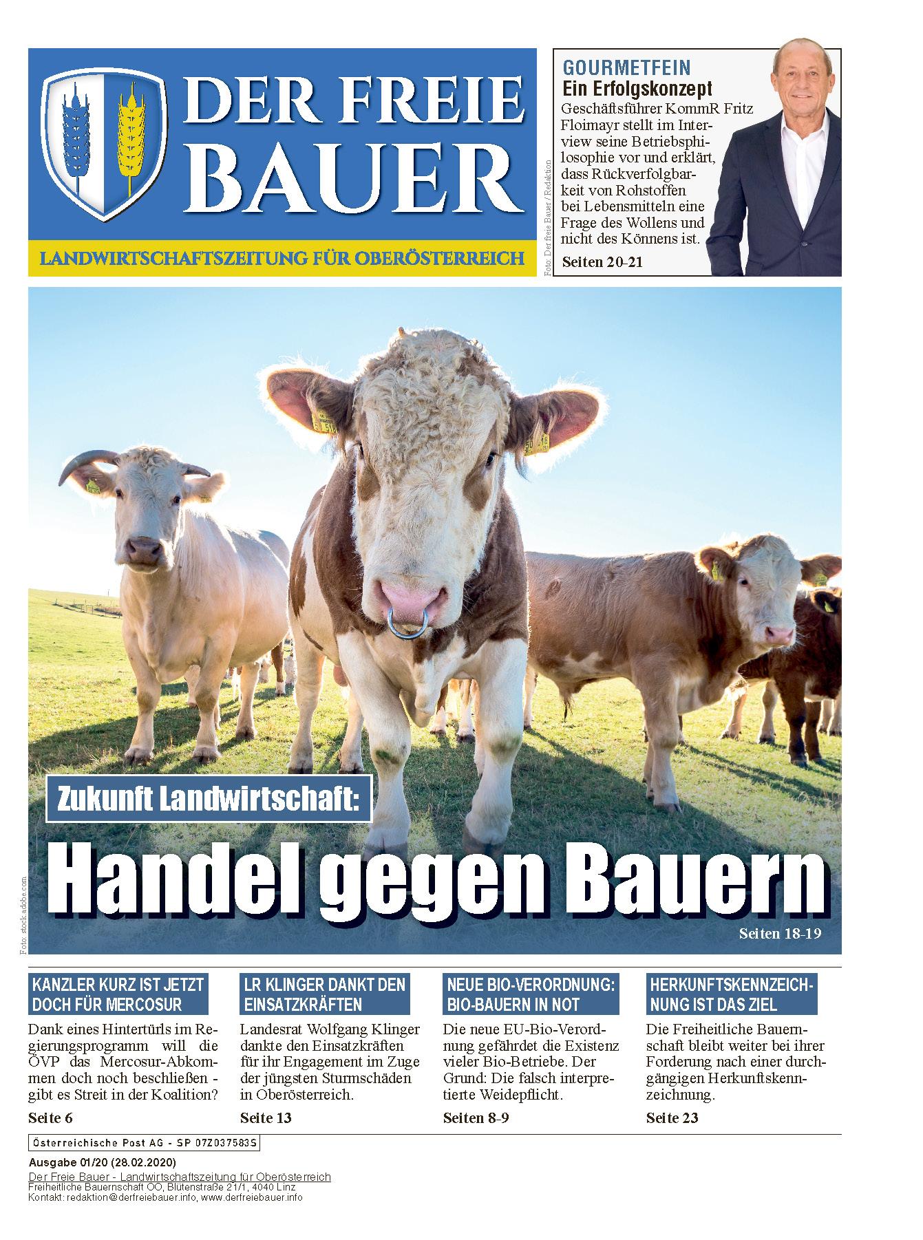 Der Freie Bauer 01/2020