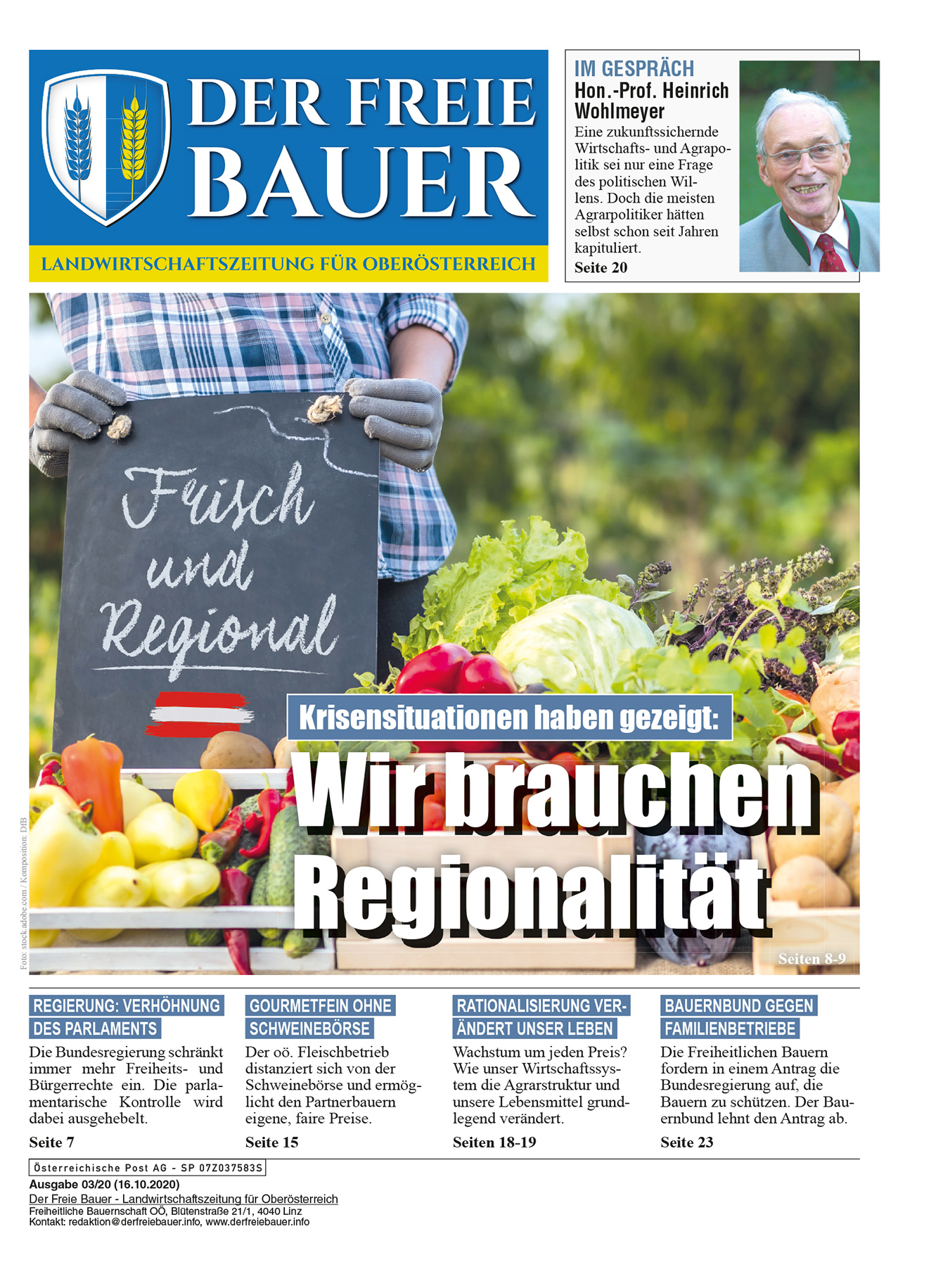 Der Freie Bauer 03/2020
