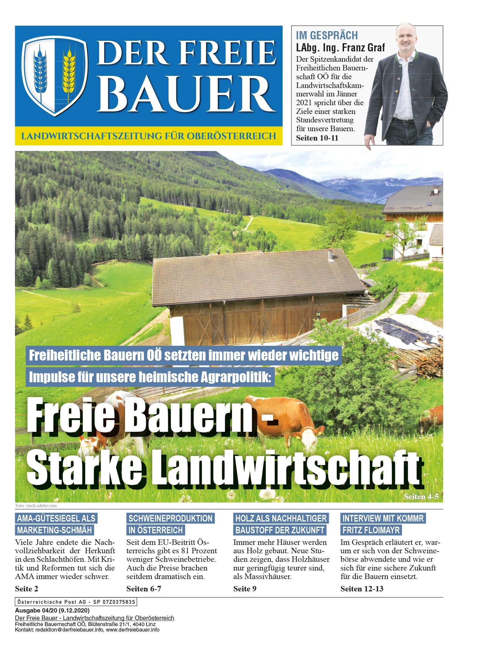 Der Freie Bauer 04/2020